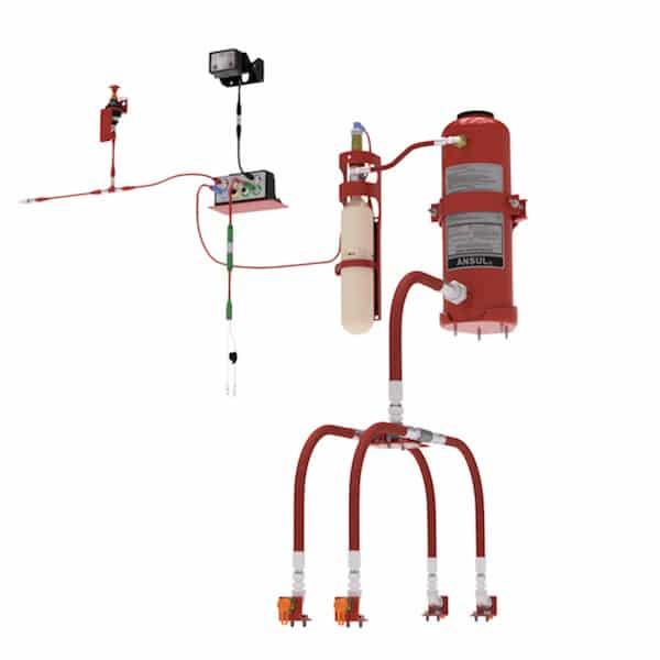 Vehicle Fire Systems : Ansul lta fire suppression systems advanced fst