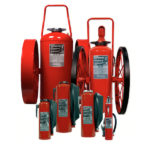RED LINE MOBILE EXTINGUISHERS - WHEELS